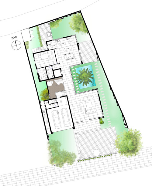 dong anh 16 1529634084 600x0 - Ngôi nhà vườn này như một công viên thu nhỏ với diện tích 450m2