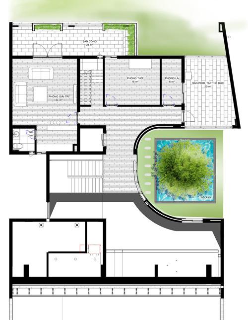 dong anh 18 1529634084 600x0 - Ngôi nhà vườn này như một công viên thu nhỏ với diện tích 450m2