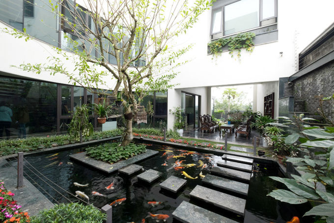 dong anh 7 1529634082 680x0 - Ngôi nhà vườn này như một công viên thu nhỏ với diện tích 450m2