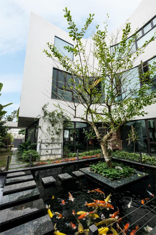 dong anh 8 1529634082 600x0 - Ngôi nhà vườn này như một công viên thu nhỏ với diện tích 450m2