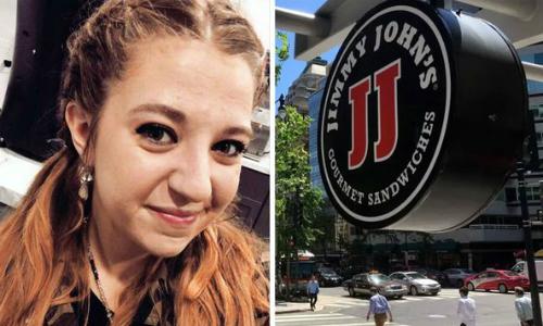 Kayla Speer (trái) và tên nhà hàng (phải) đã giúp cô phát hiện ra chuyện ngoại tình của bạn trai.