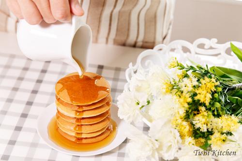 Bánh pancake thơm nức mũi cho cả nhà bữa sáng - ảnh 1