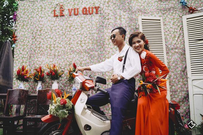 Chú rể An Giang mặc bộ đồ 80 nghìn đồng trong ngày cưới