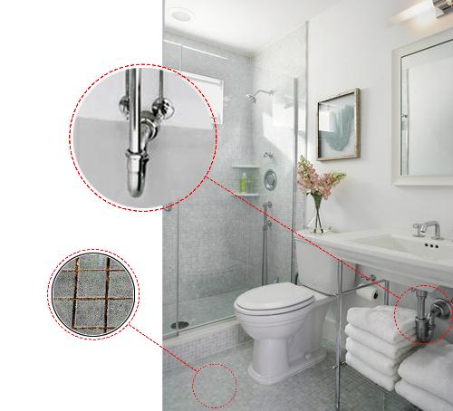 6 mẹo nhỏ hiệu quả lớn loại sạch mùi hôi nhà vệ sinh - 1