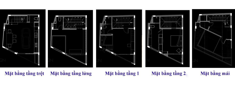 Untitled 4 680x0 - Lời giải của kiến trúc sư cho mảnh đất nhỏ, méo 6 cạnh ở Sài Gòn