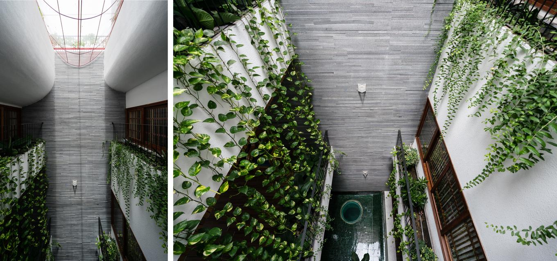Vào ngôi nhà ống ngỡ đi lạc resort ở Nha Trang