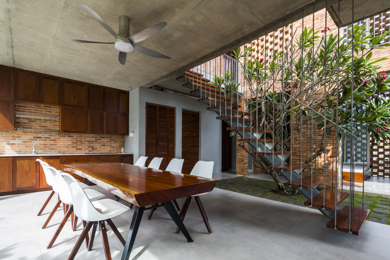 StudioHAPP Phan Thiet House Image007 680x0 - Nhà mang phong cách Nhật kết hợp Tây Ban Nha ở làng chài Bình Thuận