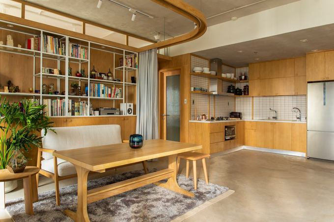 Căn hộ 70 m2 ở TP HCM theo triết lý