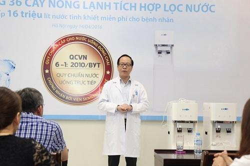 Phó giáo sư, tiến sĩ Bùi Xuân Thành, Trưởng bộ môn Kỹ thuật và Công nghệ nước (Đại học Bách khoa TP HCM).
