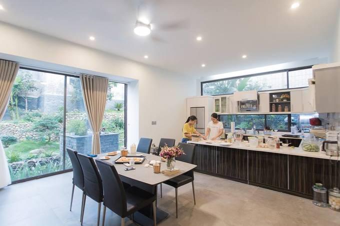Gia chủ Thanh Hóa mua 6 nhà hàng xóm để làm nơi ở đẹp như resort