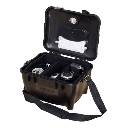 Hộp chống ẩm xách tay (không cần dùng điện) Nikatei Drybox giá 590.000 đồng, có khả năng bảo quản máy ảnh ống kính ngay cả khi cần di chuyển, đi chơi xa, công tác hay du lịch.