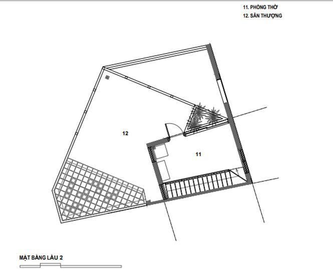 Lời giải cho mảnh đất ngũ giác khiến chủ nhà đồng ý thi công ngay - ảnh 27