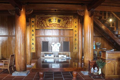 Doanh nhân về hưu chuyển nhà gỗ 300m2 từ Thanh Hóa về Đà Lạt vui thú tuổi già/Ngôi nhà gỗ 300 m2 được doanh nhân về hưu chuyển từ Thanh Hóa về Đà Lạt để vui thú tuổi già - 6