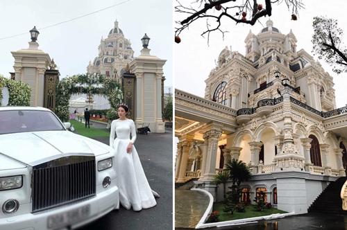 Biệt thự nơi tổ chức đám cưới của nhà gái. Ảnh: C.L.
