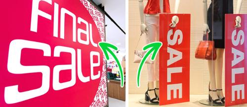 7 chiêu móc túi khách hàng của các cửa hàng thời trang