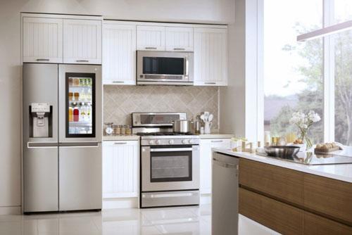 tủ lạnh đẹp và trang trọng
