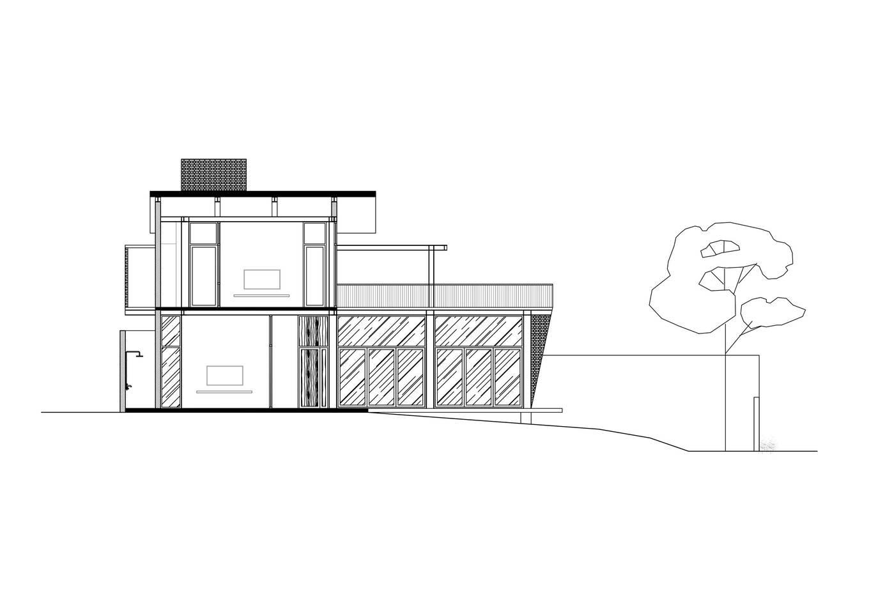 Section 1549858054 680x0 - Nhà xây hai tầng, có tổng diện tích sàn 280 m2 xanh mướt của 2 người bạn thân