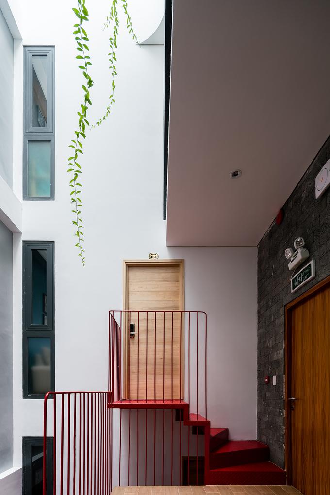 Chung cư xanh rờn trên mảnh đất 100 m2 ở Vũng Tàu