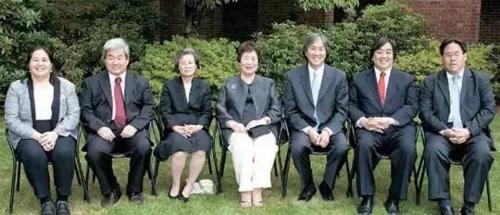 Cả 6 người con của bàHesung Chun Koh đều là tiến sĩ và giữ các trọng trách cao ở Mỹ, Hàn Quốc.. Ảnh: Sohu.