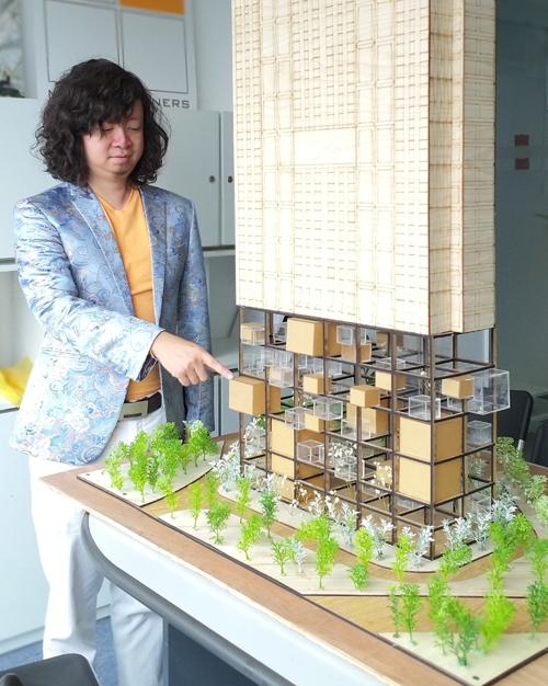 Kiến trúc sư Nguyễn Phúc Minh - Nhà đồng sáng lập MPN + Partners.