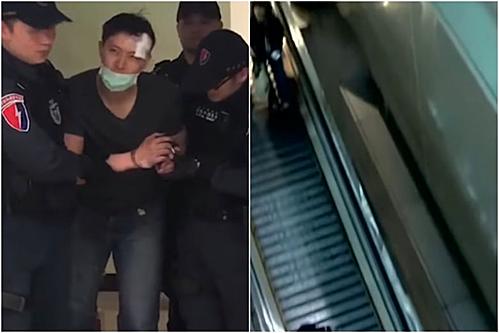 Chồng ném vợ từ tầng 4 sân bay sau khi cãi nhau - Đời sống