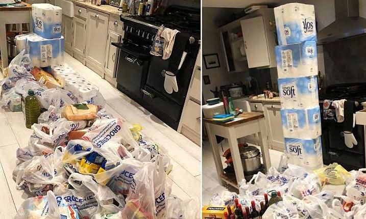 Nhờ chồng đi chợ, vợ nhận về 144 cuộn giấy vệ sinh - Đời sống