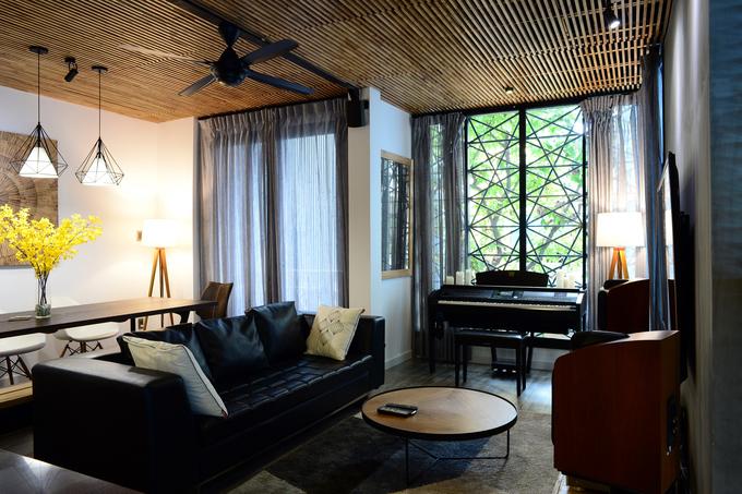Gia chủ sửa nhà phảng phất phong cách Sài Gòn xưa