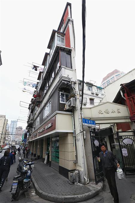 Cảnh tù túng trong tòa chung cư mỏng dính ở Thượng Hải - 1