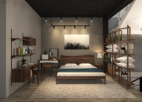 Bộ sưu tập phòng ngủ tại showroom TAM Design - Thước Tầm Group cũng là điểm nhấn thu hút sự quan tâm. Nội thất được bài trí tỉ mỉ, có tính liên kết chặt chẽ, giúp cư dân có cảm giác hòa mình với thiên nhiên.