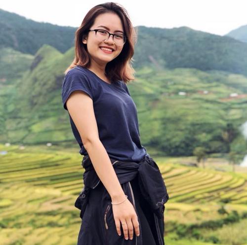 Lương Bảo Ngọc Anh đạtIELTS 8.0 - hai năm nay sáng lập lớp học miễn phí12h đột phá nhằm chuẩn hóa nói tiếng Anh cho người Việt. Ảnh: NVCC.