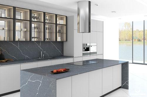 5 lý do gia đình Mỹ chọn đá thạch anh làm đẹp căn bếp