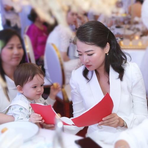 Đinh Ngọc Diệp, Trang Khiếu, Hà Đỗ cùng con trai dự sự kiện mẹ và bé - ảnh 5