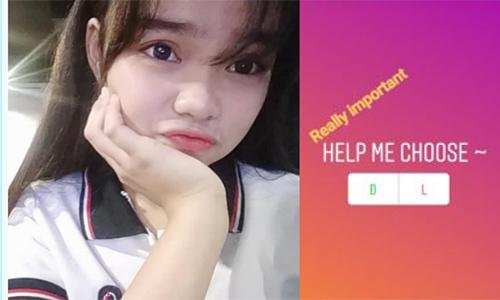 Davia đã tự tử sau khi những người theo dõi trên Instagram của cô chọn phương án Die.