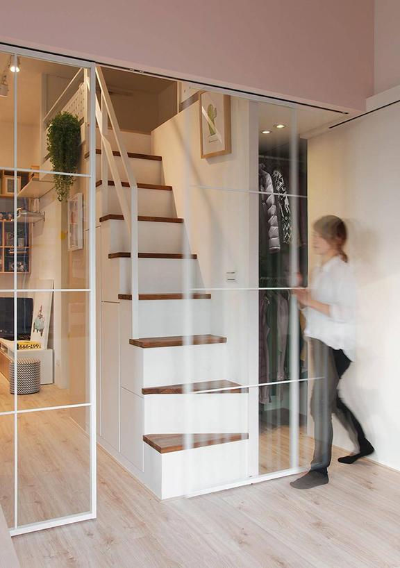 Căn hộ 33 m2 như rộng gấp đôi sau cải tạo