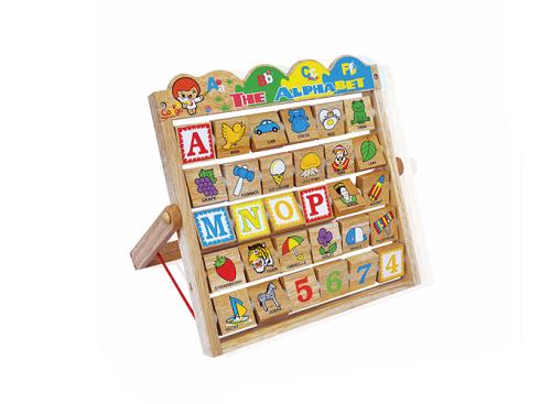 Bảng chữ cái bằng gỗ Alphabet – 50129