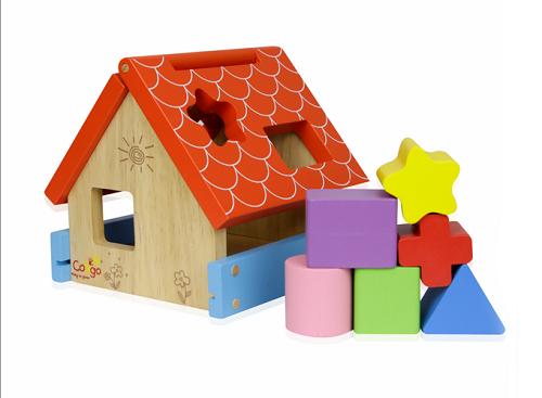 Đồ chơi nhà thả khối bằng gỗ – 71130