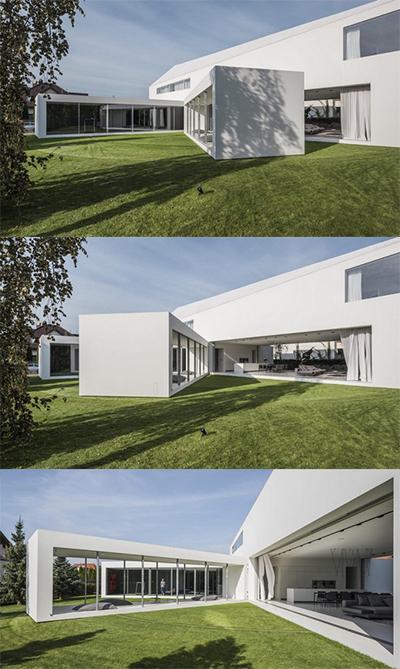 Ngôi nhà có thể thay đổi hình dạng để tránh nắng - ảnh 1