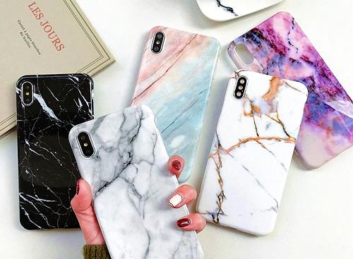 Ốp điện thoại iphone Xs Max đá cẩm thạch