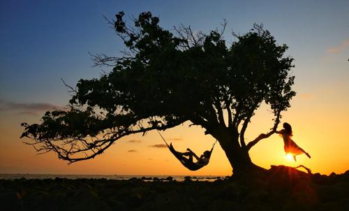 Săn hoàng hôn tuyệt đẹp tại đảo Đồi Mồi, Phú Quốc.