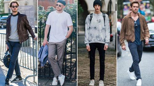 Công thức đơn giản về cách phối quần áo với giày cho nam