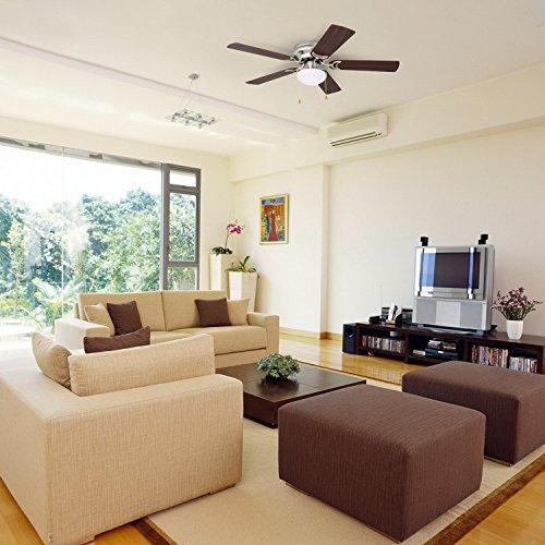 Đổi chiều quay của quạt trần sẽ giúp làm mát căn nhà bạn.