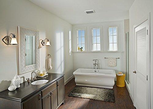 Bạn nên lắp quạt thông gió trong phòng tắm và nhà bếp.