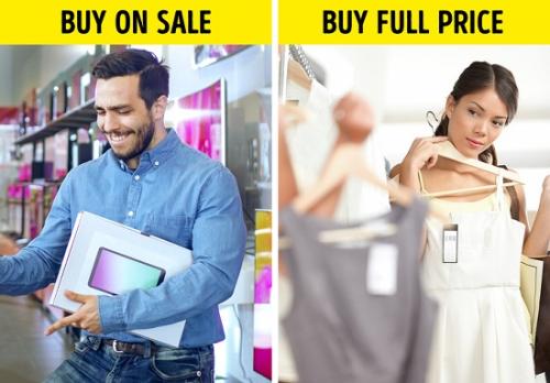 Tạo một danh sách mua sắm cho mỗi đợt giảm giá: Chúng ta đều thích giảm giá. Tuy nhiên, nếu không biết cách chi tiêu hợp lý thì đồ giảm giá cũng không giúp bạn tiết kiệm được bao nhiêu tiền. Đồ giảm giá thậm chí còn khiến bạn tiêu nhiều tiền hơn dự tính vì sẽ mua cả những thứ chẳng bao giờ dùng đến.  Những người biết cách chi tiêu khuyên rằng nên lập danh sách mua hàng trước và lên kế hoạch mua các thứ có giá trị lớn thông qua mỗi đợt giảm giá để kiếm được món đồ giá hời.