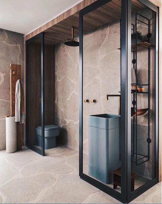 Những ý tưởng cho phòng tắm mát rượi trong mùa hè