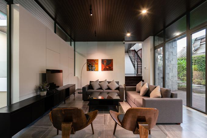 Ngôi nhà như resort ẩn sau bức tường kín đáo ở Tiền Giang - ảnh 15