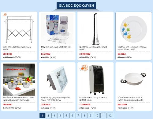 Chương trình giá sốc độc quyền với nhiều mặt hàng được bán với giá độc quyền, chỉ có trên VnExpress.