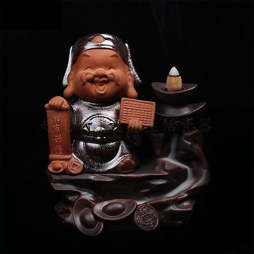 Thác khói trầm hương tô điểm cho phòng khách - ảnh 7