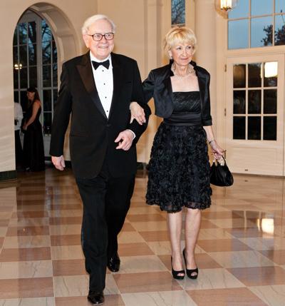 Bà Astrid và tỷ phú Buffett