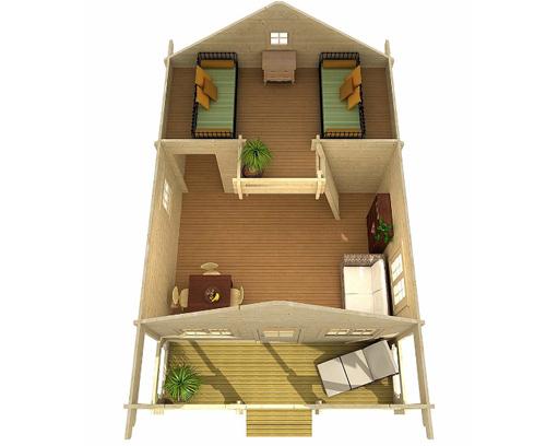 Ngôi nhà chỉ cần lắp ráp 2 ngày là có thể vào ở - ảnh 6