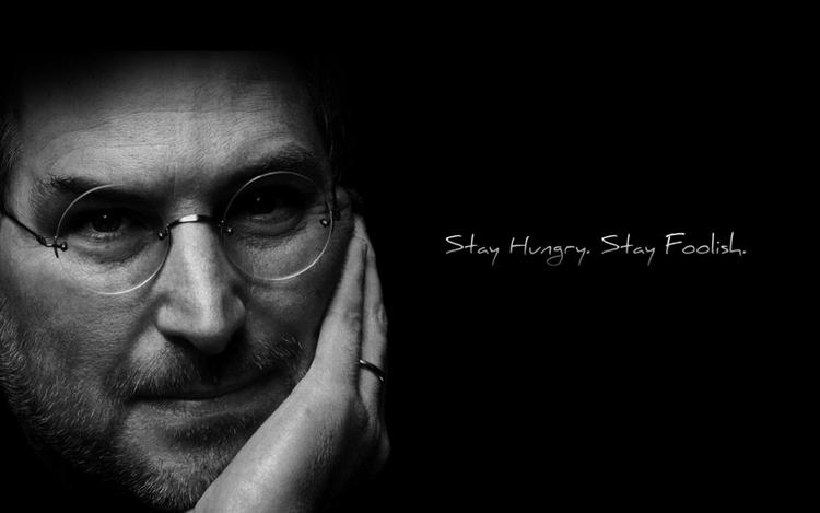 Stay Hungry, stay foolish được xem là câu nói bất hủ của Steve Jobs. Ảnh: Ereka.